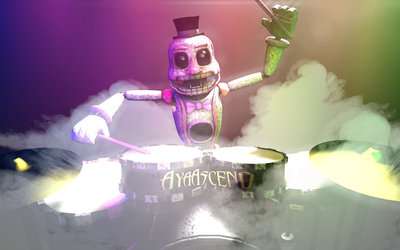 FNaF 1 MusicMan - meepderp1 Request by AyaAscend