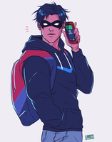 Nightwing by Yuki119