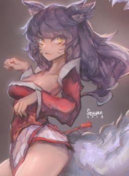 Ahri! by Seuyan