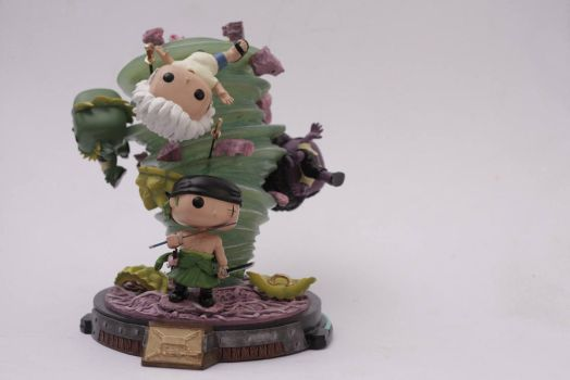 Zoro (Funko Pop Custom) by lawliet21-27