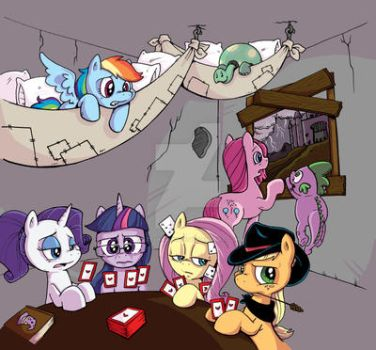 MLP Issue #20 Coloring Job for Katie Cook by keelhaulkate