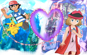 Amourshipping: Love Across The Regions by REMcMaximus