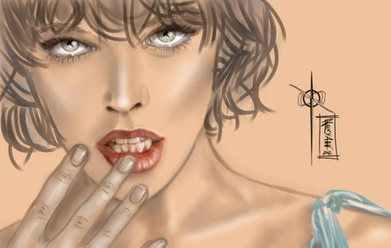 INGENUE - FACIAL EXPRESSIONS - finished by rroxyann