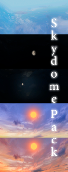 [MMD] Skydome Pack - DL by JoanAgnes
