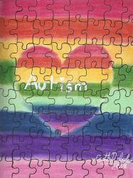 Autism Awareness 2018 by GothNebula