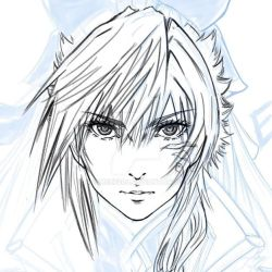 Eve new face test sketch no 2 by adamexe20a