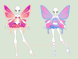 Enchantix Adoptable Outfit And Wings (ALL SOLD) by Hearty-Chann