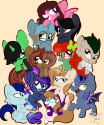 Friend 12 pony picture commission by CreativeChibiGraphic