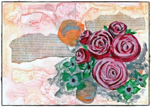 Bouquet of Roses by Annick55