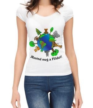 Save The Earth T-shirt by Cathyxxx