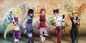 Naruto Girl's by dog-food
