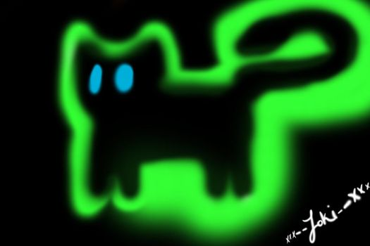 Ghost Cat by millenniumsmuggler