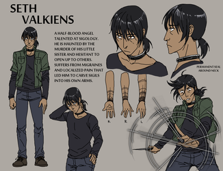 Seth Reference Sheet by Laitma