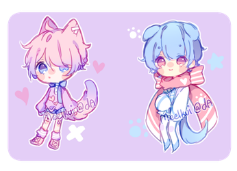[Sold 2 Bloo] Sketch Adopts Auction Extras+ by Meelkui