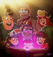 Gravity Falls - We'll Meet Again by Aktheneroth