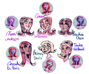 PNK Humanizations by pirran-p