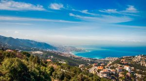Jounieh Bay and Harissa View From Kfour Lebanon by alanove