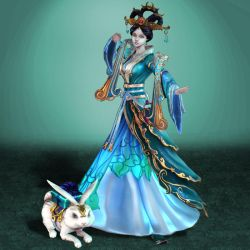 SMITE Chang'E by ArmachamCorp