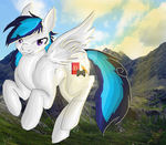 flying in mountains ..CE.. by brenstar345