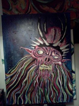 Oderus in Acrylics by Acidhands