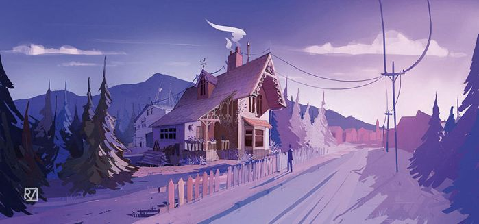 the house of violet by rammmon