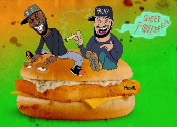 Desus and Mero by Makinita