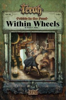 Arc #1 Within Wheels. Artwork by Hugo Solis by Rossi-Publishing