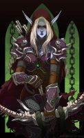 FANART : WoW - Sylvanas Windrunner by Kme