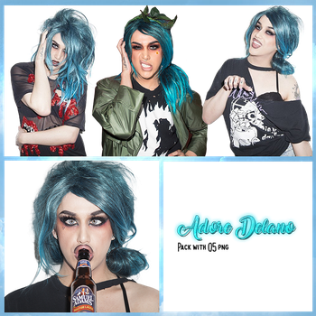 Adore Delano Pack PNG #2 by maarcopngs