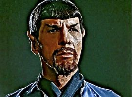 Mirror Spock by ColonelFlagg