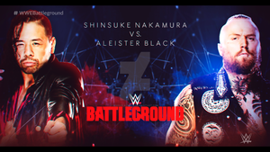 WWE Battleground 2018 Custom Match Card [HD] by EdgarLazarte
