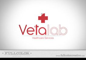 Vetalab Healthcare Logo by FullcolorCreative