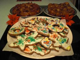 Christmas Baking by KaiThePhaux