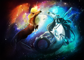 Time And Space | Collaboration by Kytt3