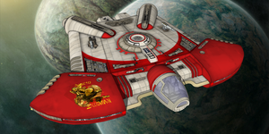 Star Wars - Ghtroc 720 Light Freighter by Shadowstate