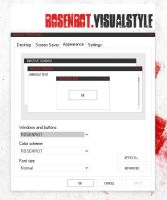 ROSENROT.VISUALSTYLE by arcticTransfuse