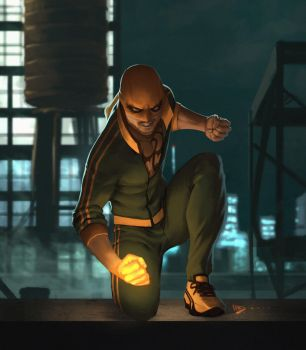 The Immortal Iron Fist by dartbaston