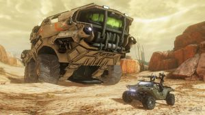 Halo 4 | Warthog and a new vehicle Wallpaper by Goyo-Noble-141