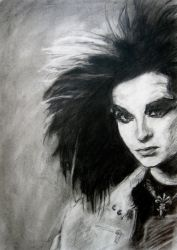 Bill Kaulitz II by lachwen