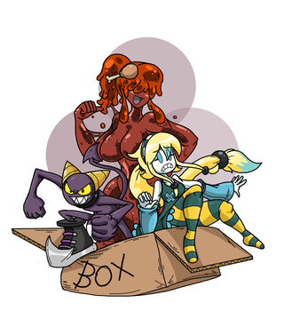 What's in the Box by SHITFORBRAINSCHAN