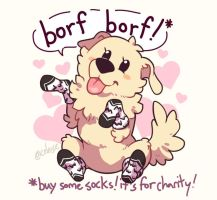 Borfsocks by celesse