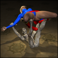Supergirl Bent Out of Shape 02 by LordSnot