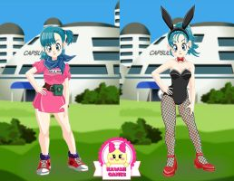Dragon Ball Super Bulma Dress Up by heglys