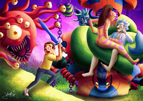 Rick and Morty by jpbijos