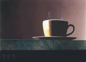 Yellow Coffee Cup by dadenko