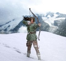 Rise of the Tomb Raider by FaceGenerator