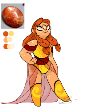 SU- Gem Sunstone by Owllion