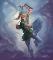 Link from Zelda by ShoZ-Art