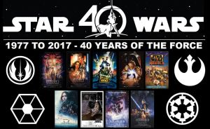 Star Wars - 40 Years of the Force by DoctorWhoOne