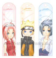 Bookmarks: Naruto group1 by Citron-Ami